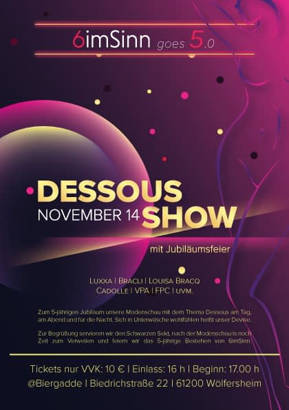 6imSinn goes 5.0 – DessousShow