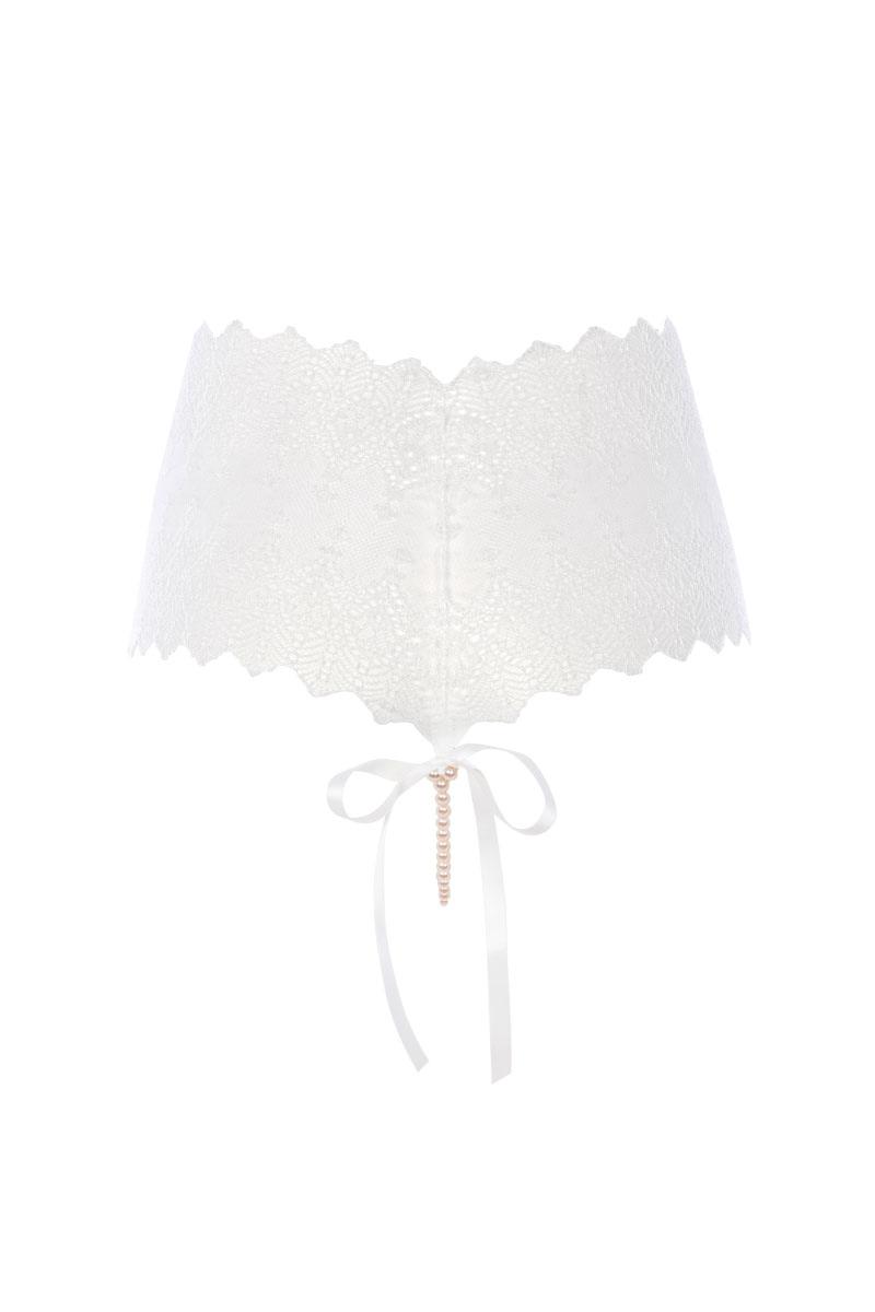Geneva High Waist Panty white back